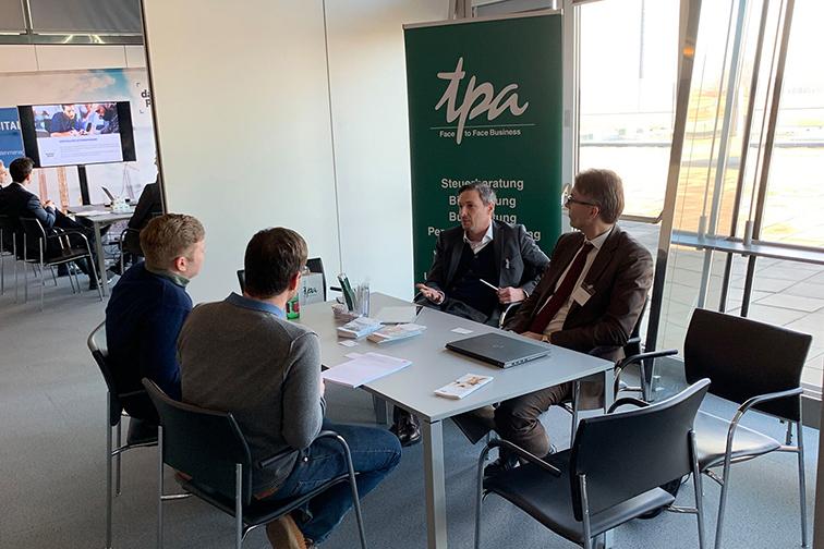 tpa-Tisch Schauplatz Fabrikplanung Graz