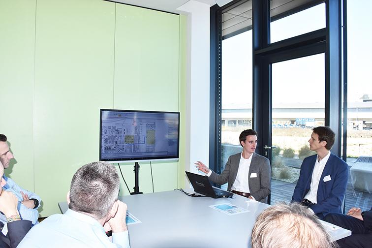 Materialflussoptimierung mit GrAPPA von Fraunhofer Austria