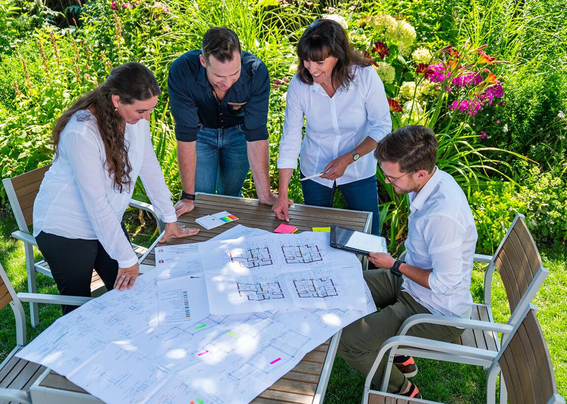 Architektur im DELTA Garten