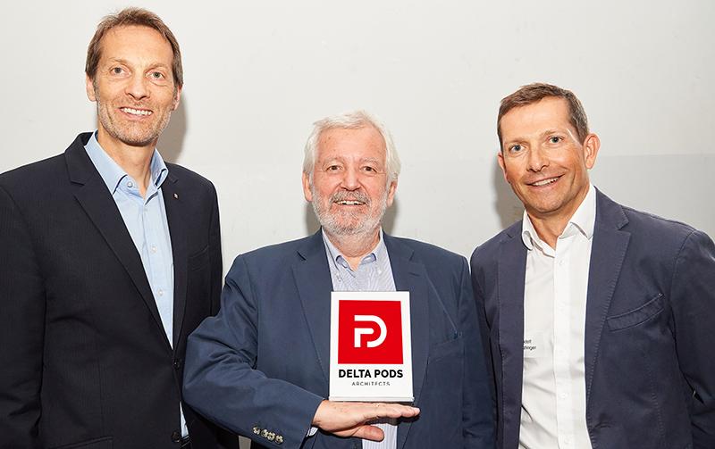 Wolfgang Kradischnig, Peter Podsedensek, Rudolf Stürlinger / Delta Pods
