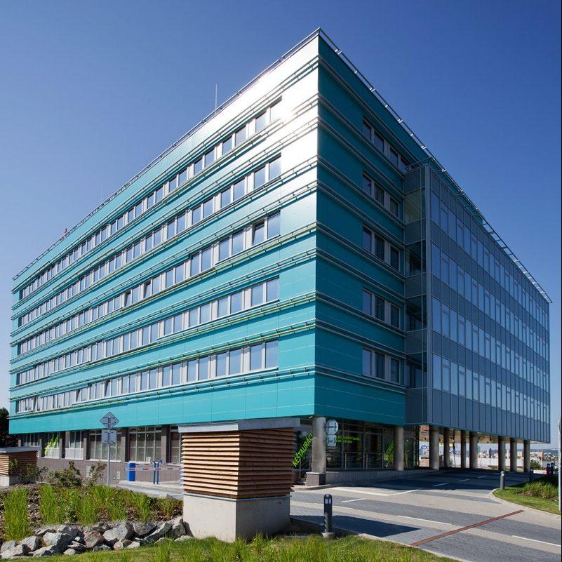 Budova administrativního centra ECoPoint v Košicích na Slovensku