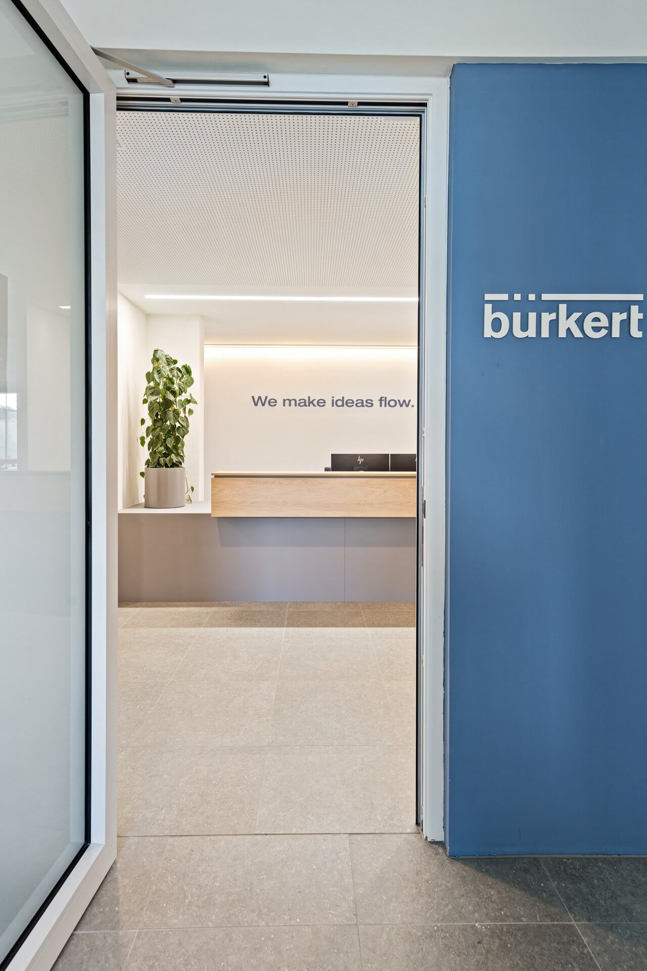 Vstupní prostory Bürkert